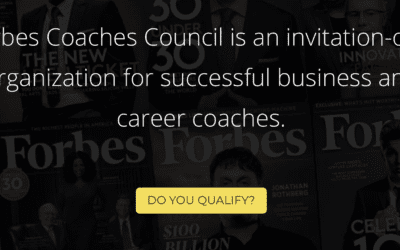 I'm not impressed you're in the Forbes Coaches Council