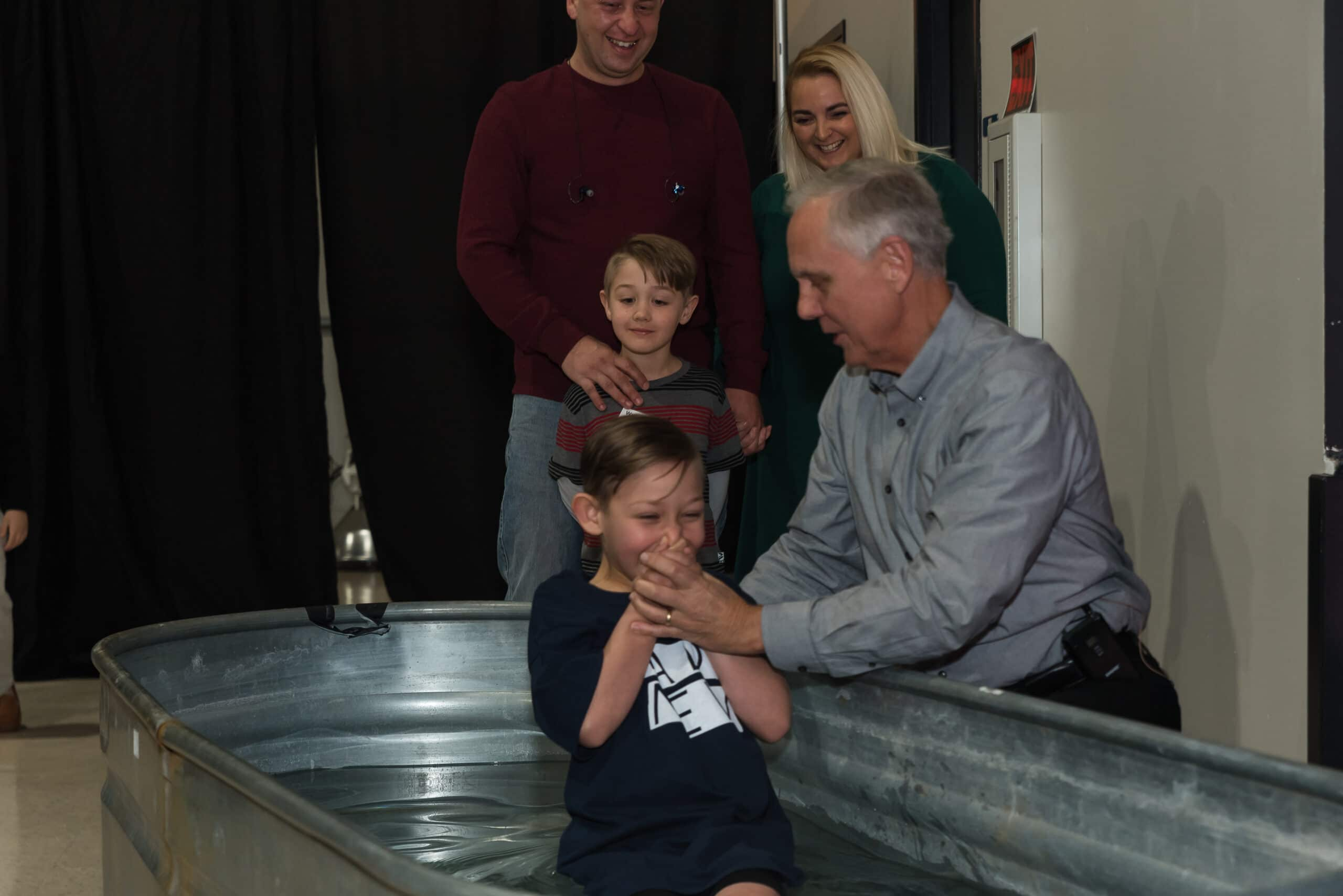 Being a homemaker allowed me to teach my son about baptism