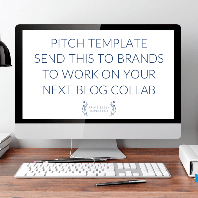 Brand Collaboration Pitch Template