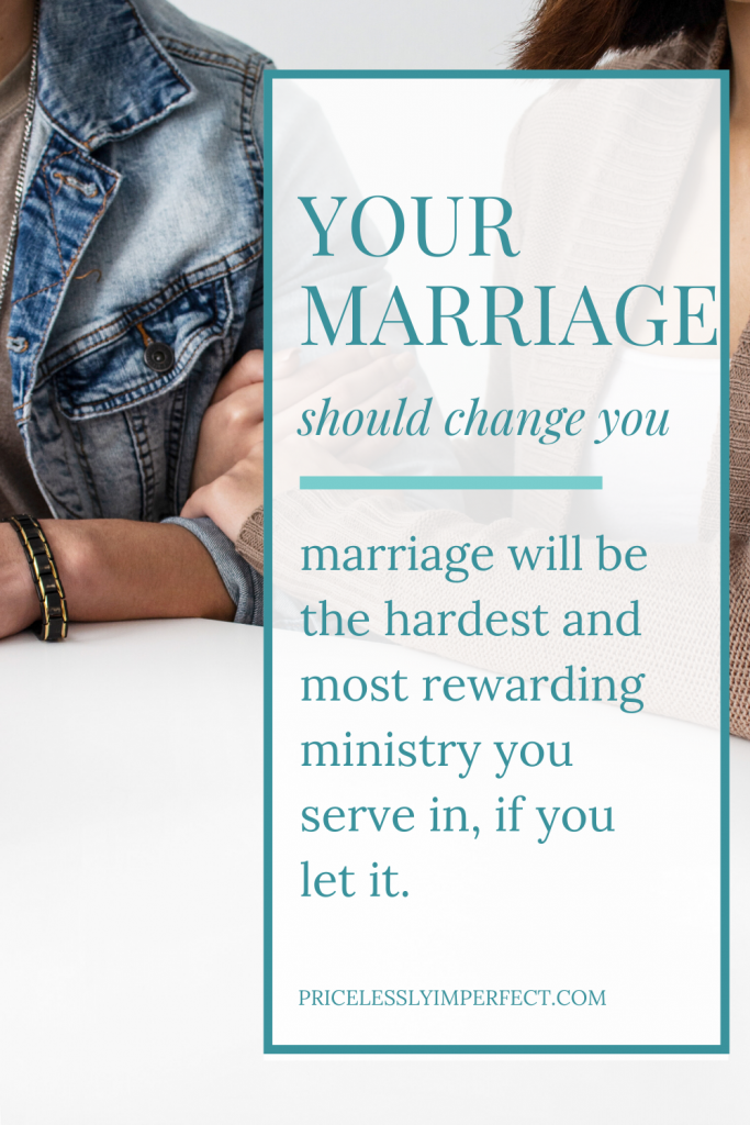 Pin this post on marriage being the hardest ministry