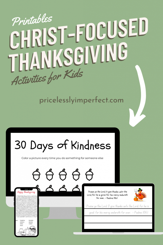 15 Christian Thanksgiving Activities to keep the focus on Jesus this holiday season