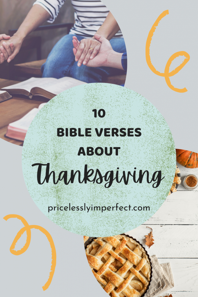 Verses to thank God this Thanksgiving